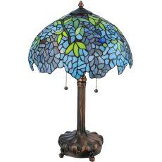 "25"" H Tiffany Wisteria Table Lamp"