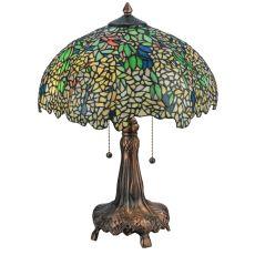 "22"" H Tiffany Laburnum Table Lamp"