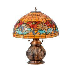 """19.5"""" H Black Eyed Susan Table Lamp"""