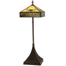 "81"" H Pinecone Ridge Floor Lamp"