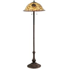 "61.25"" H Pinecone Floor Lamp"