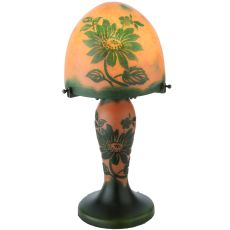 """15"""" H Galle Clarissa Lighted Base Table Lamp"""