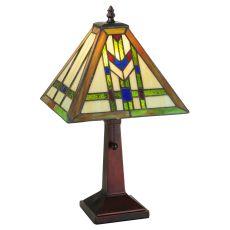 """17.5"""" H Prairie Wheat Table Lamp"""