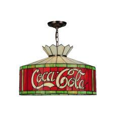 """20"""" W Coca-Cola 230 Volt Pendant"""