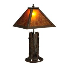 "20"" H Northwoods Mission Prime Accent Lamp"