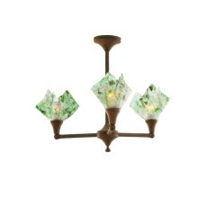 "30"" W Metro Fusion Times Square 3 LT Inverted Pendant"