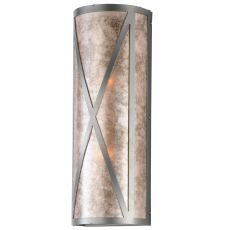 "6"" W Diamond Craftsman Wall Sconce"
