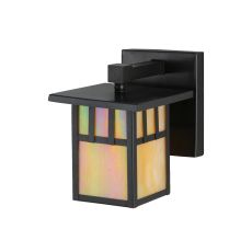 """6"""" W Hyde Park Double Bar Mission Solid Mount Wall Sconce"""