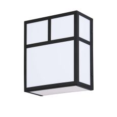 """9"""" W Hyde Park T Mission Wall Sconce"""