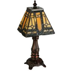 "12"" H Sierra Prairie Mission Mini Lamp"