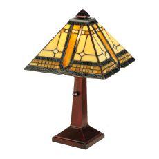 "16"" H Sierra Prairie Mission Accent Lamp"