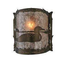 """9"""" W Loon Wall Sconce"""