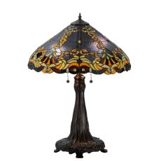 "27"" H Baroque Vine Table Lamp"