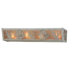"24"" W Tropical Fish Vanity Light"
