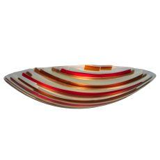 "30"" W Metro Fusion Marina Glass Bowl Shade"