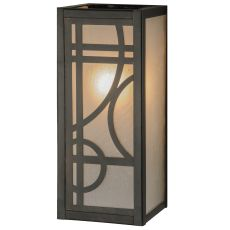 """5"""" W Revival Deco Wall Sconce"""