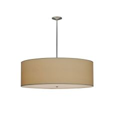 "48"" W Cilindro Natural Textrene Pendant"