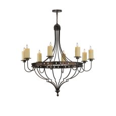 "48"" W Bottini 8 Lt Chandelier"