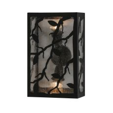 "10"" W Branches With Leaves Wall Sconce"