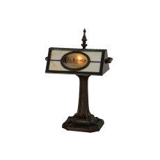 """17"""" H Personalized St. Elizabeth'S Hospital Banker'S Lamp"""