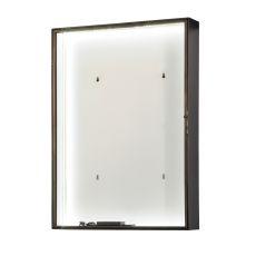 "26"" W Mahogany Bronze 5000K Pure White Led Backlit Display"