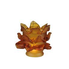 Amber Tier Glass