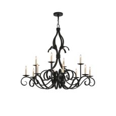 "48"" W Cypress 12 Lt Chandelier"