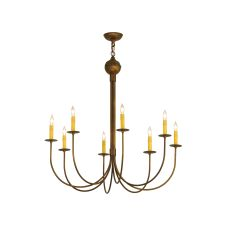 "36"" W Cheal 8 Lt Chandelier"