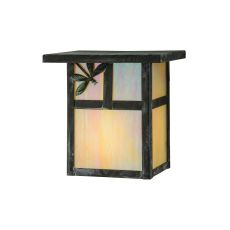"6.5"" W Hyde Park T Mission Dragonfly Wall Sconce"