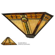 """16"""" W Carlsbad Mission Wall Sconce"""