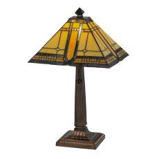 "21"" H Sierra Prairie Mission Table Lamp"