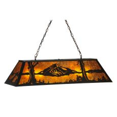 "48"" L Mountain Range Oblong Pendant"