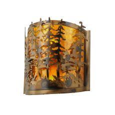"""14"""" W Tall Pines Wall Sconce"""