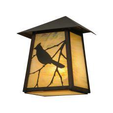 """9"""" W Stillwater Song Bird Wall Sconce"""