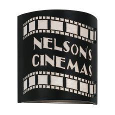 "9.5"" W Nelson'S Cinema Wall Sconce"