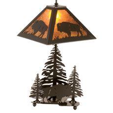 "21"" H Buffalo Table Lamp"