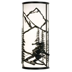 "13"" W Alpine Wall Sconce"