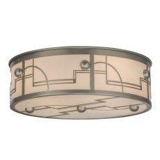 "24"" W Revival Deco Flushmount"