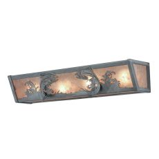 "24"" W Leaping Trout Vanity Light"