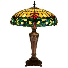 """25"""" H Duffner & Kimberly Colonial Table Lamp"""
