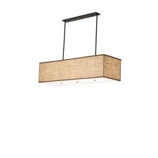 "59"" L Quadrato Lounge Oblong Pendant"
