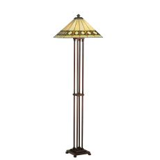 "63"" H Diamond Band Mission Floor Lamp"