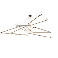 "216"" W Isotope Chandelier"