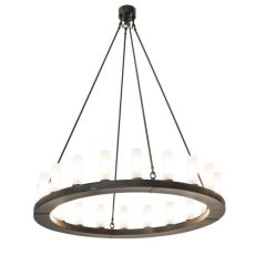 """60"""" W Loxley 20 Lt Chandelier"""