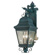 "11"" W Vincente Ds Bracket Lantern Wall Sconce"