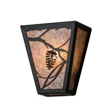 """7"""" W Whispering Pines Wall Sconce"""