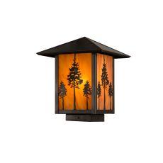 "9"" Sq Great Pines Deck Light"