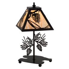 """15"""" H Whispering Pines Accent Lamp"""