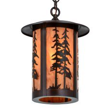 "10"" W Fulton Great Pines Pendant"