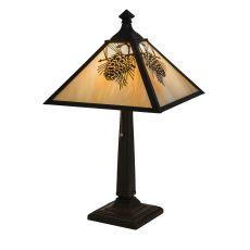 "23.5"" H Winter Pine Table Lamp"